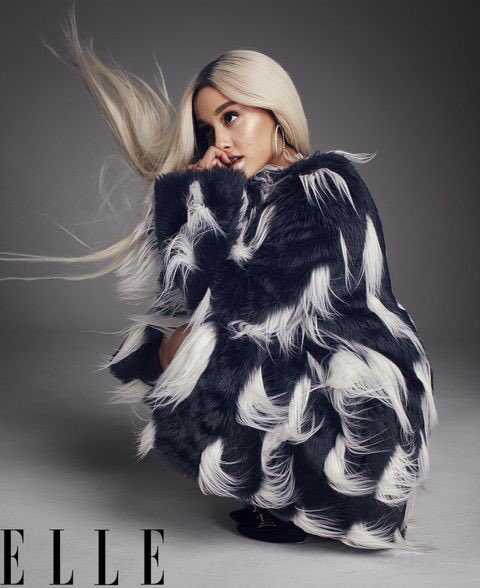 Ariana Grande Elle 5