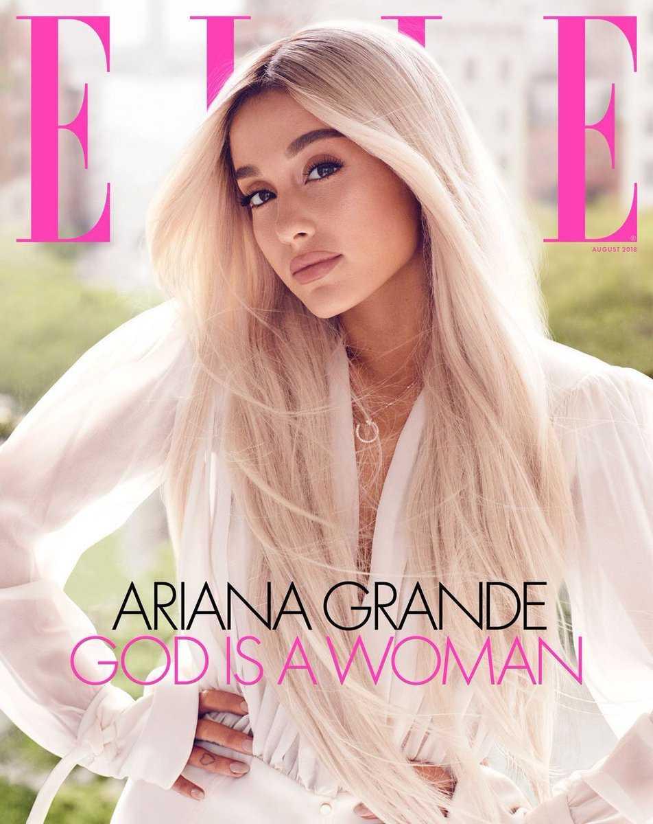 Ariana Grande Elle 6
