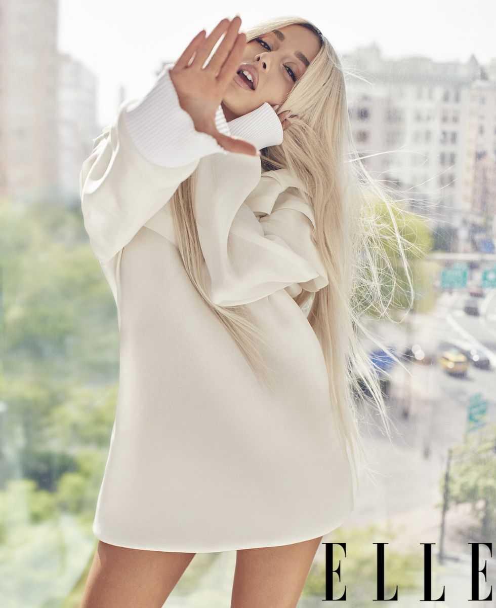 Ariana Grande Elle Magazine