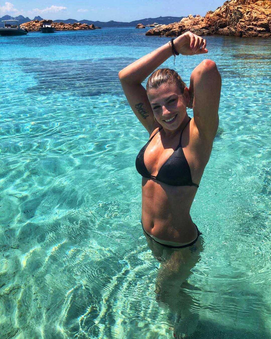 Emma Marrone bikini