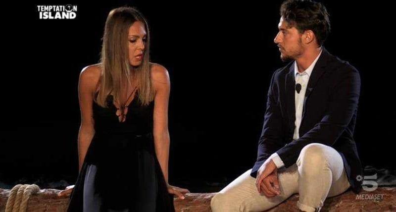 Gianpaolo e Martina falò a Temptation Island