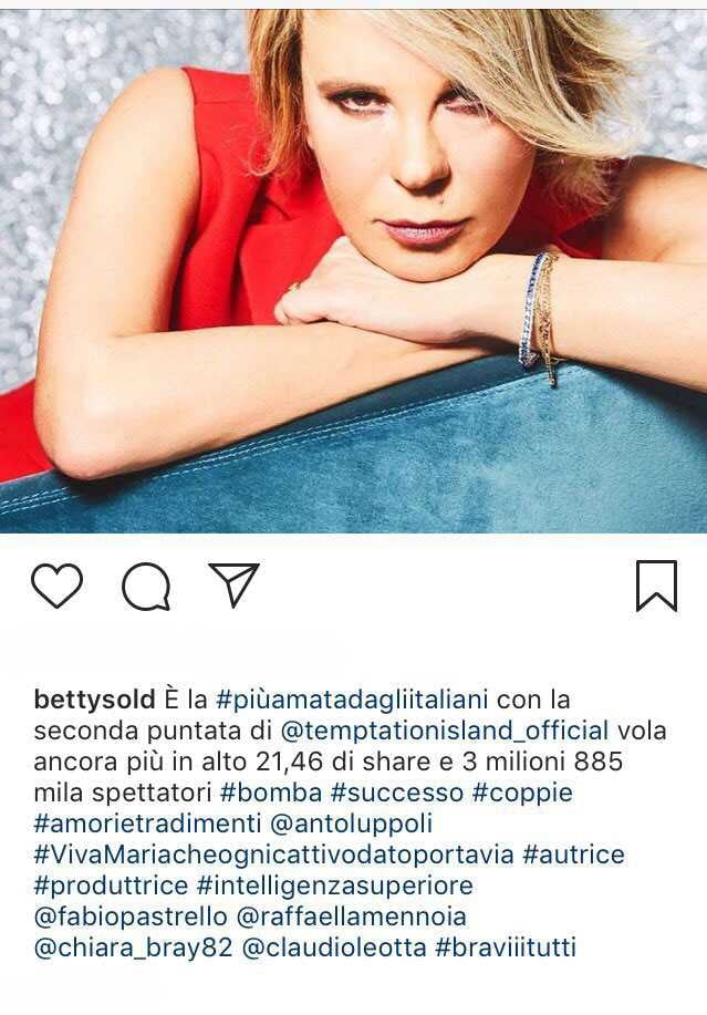 Maria De Filippi Betty Soldati e Filippo Bisciglia