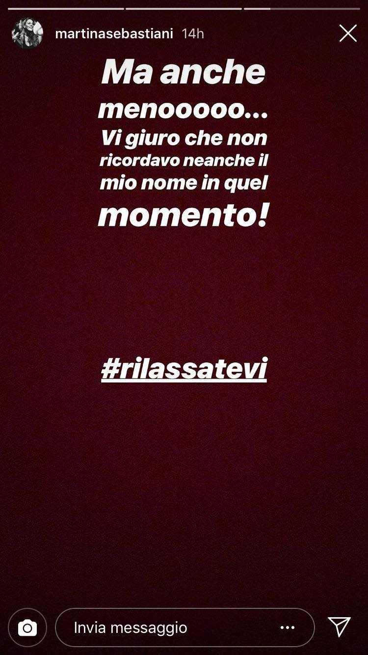 Martina e Gianpaolo Temptation Island Instagram (2)