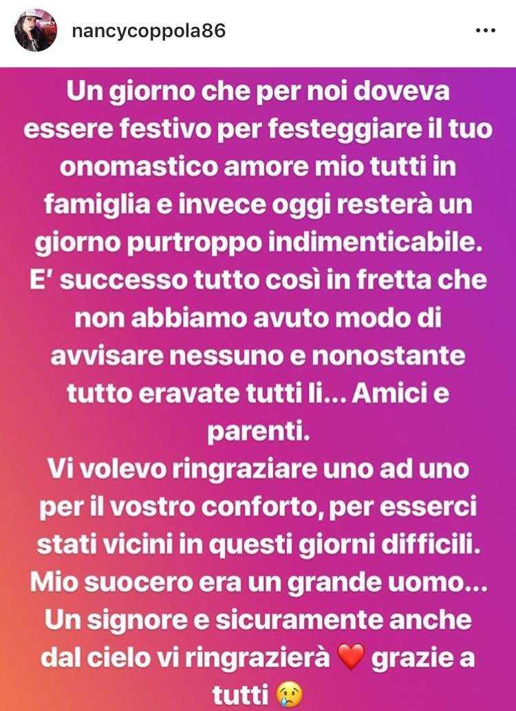 Nancy Coppola incinta (1)