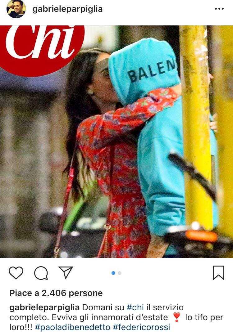 Paola Di Benedetto e Federico Rossi Chi bacio (3)