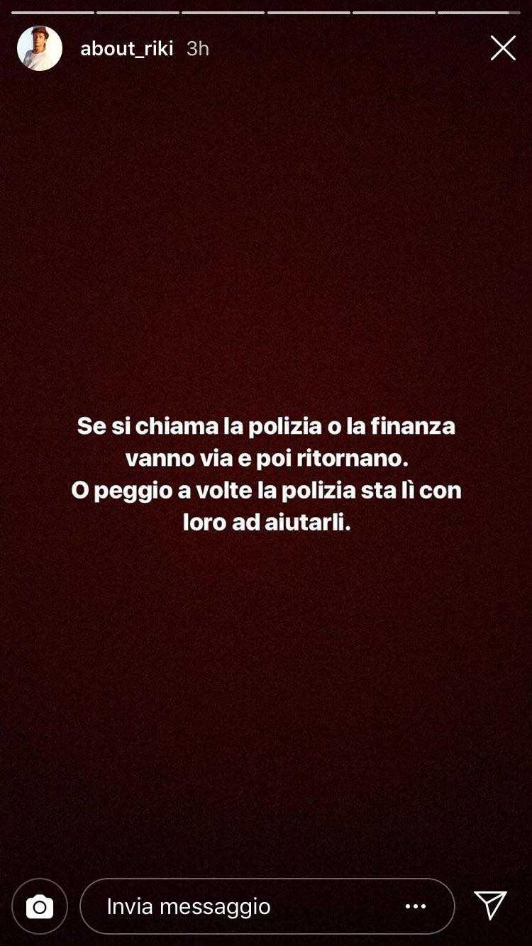 Riccardo Marcuzzo Polizia