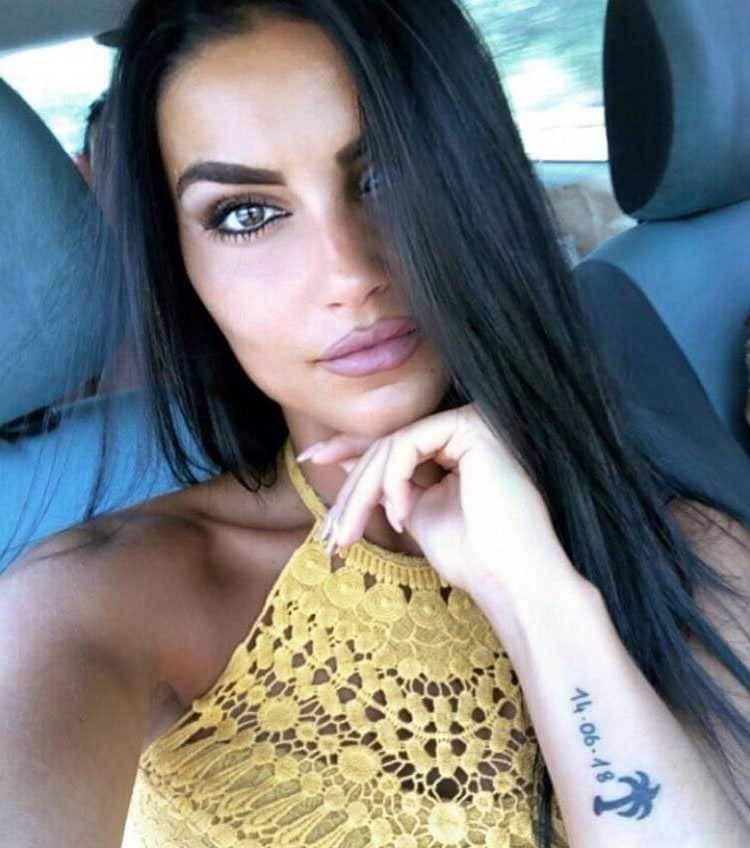 Teresa Langella Tatuaggio Temptation Island
