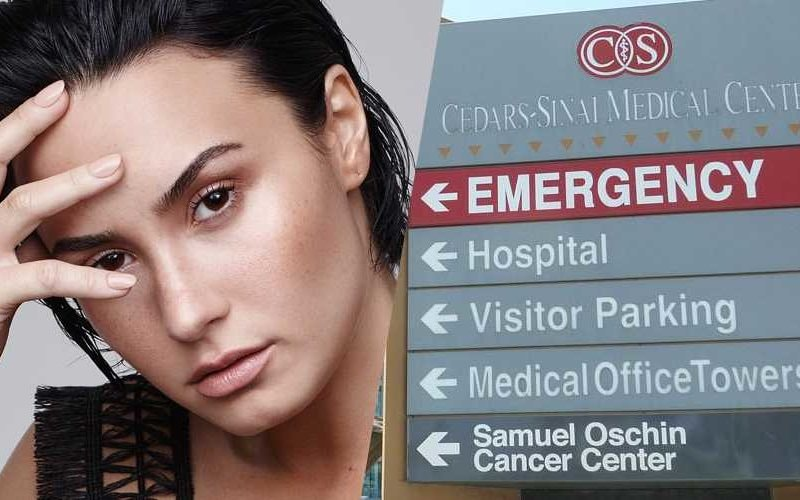 demi lovato hospital emergency twitter