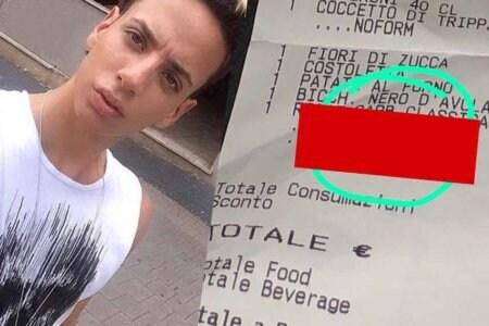 omofobia roma scontrini