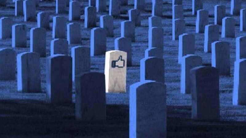 social network dead death morte eredita eredi vacanze
