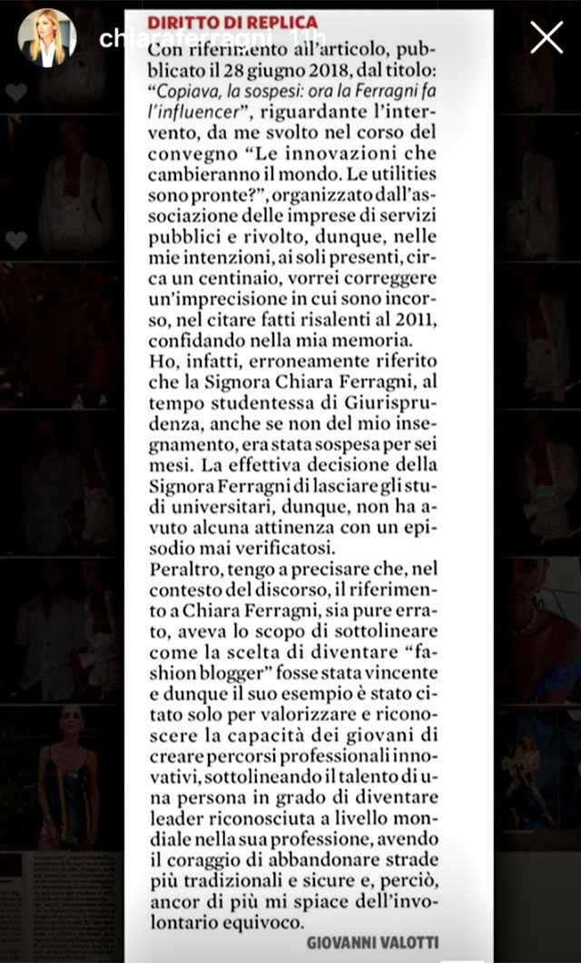 Chiara Ferragni Bocconi