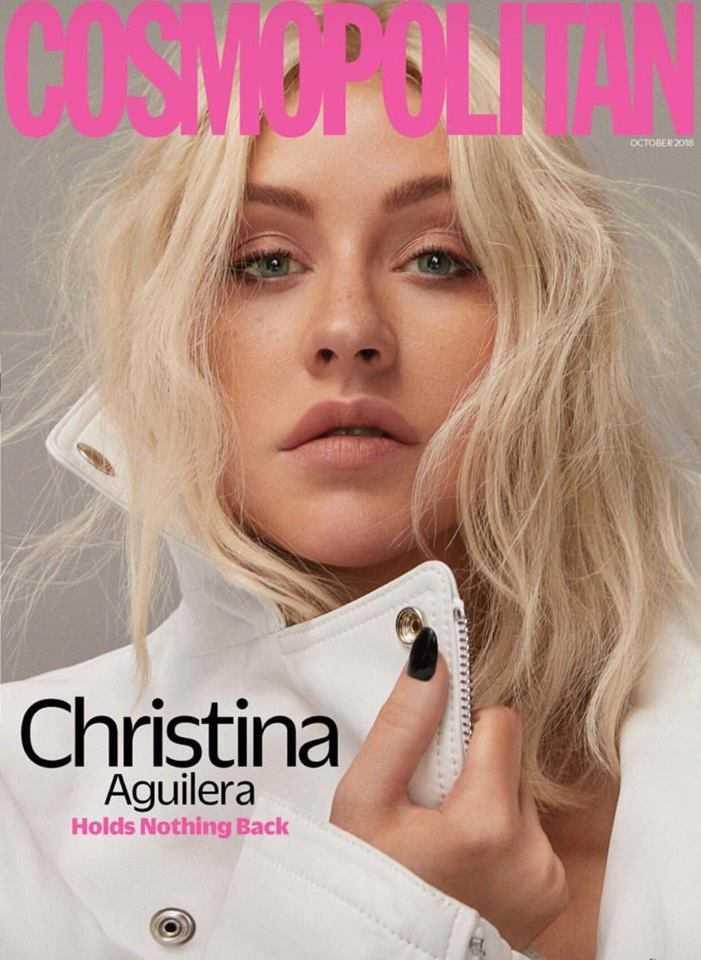 Christina Aguilera Cosmopolitan 2018 (2)