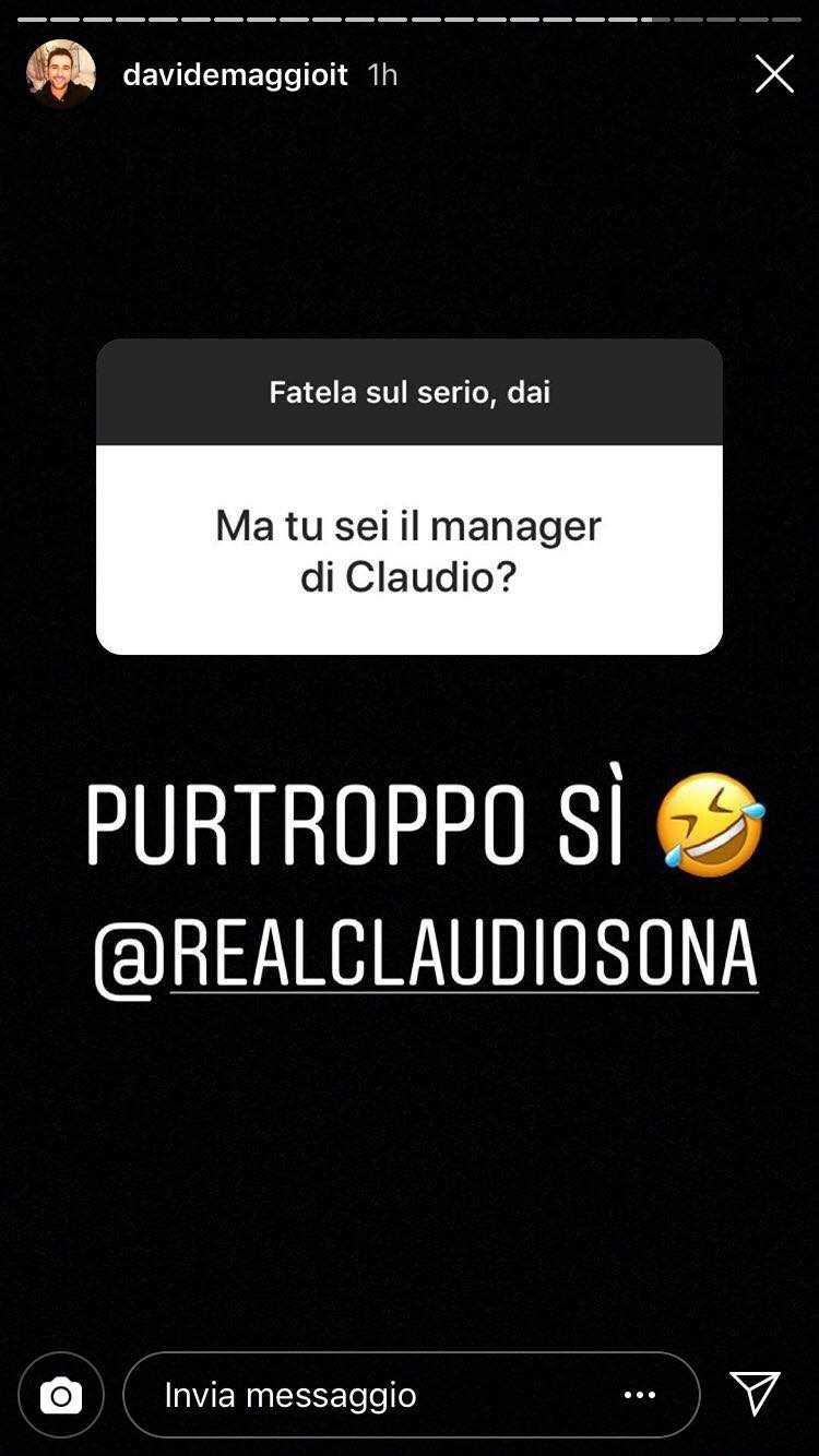 Claudio Sona Davide Maggio