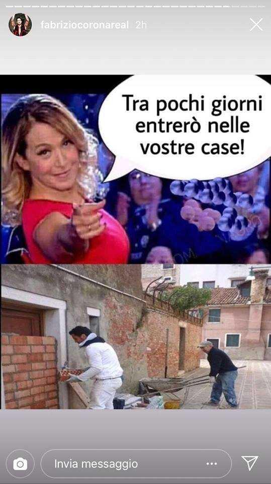 Fabrizio Corona Barbara d'Urso Instagram (2)