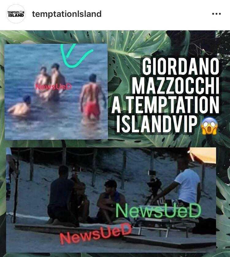 Giordano Mazzocchi Temptation Island Vip