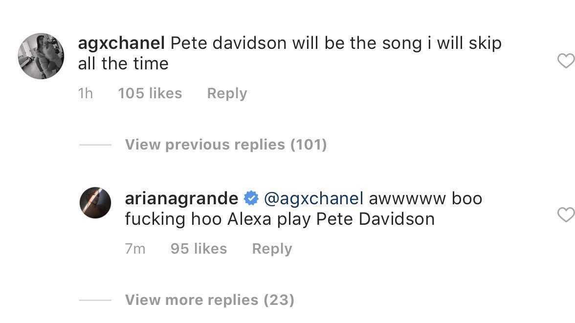 ariana grande cheated on mac miller pete davidson