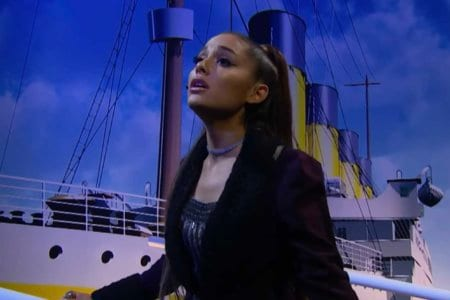 ariana grande titanic soundtrack james corden