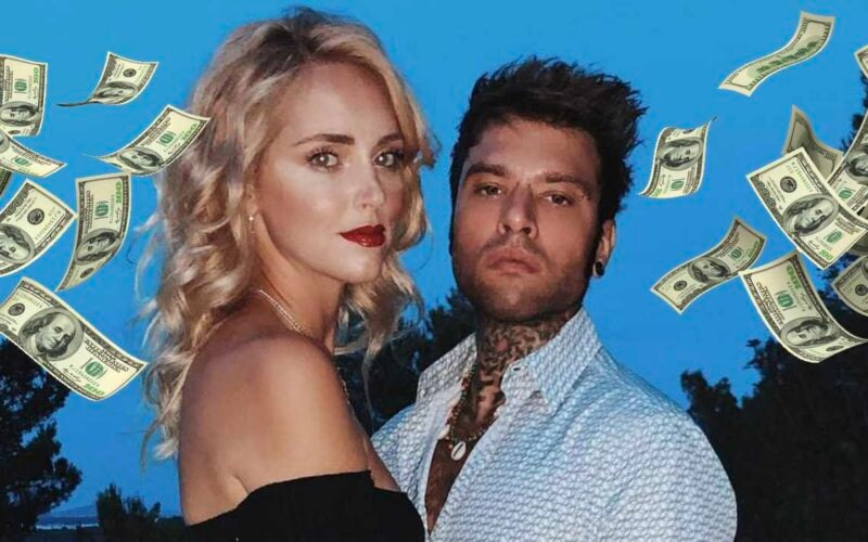 chiara ferragni soldi fedez matrimonio raccolta