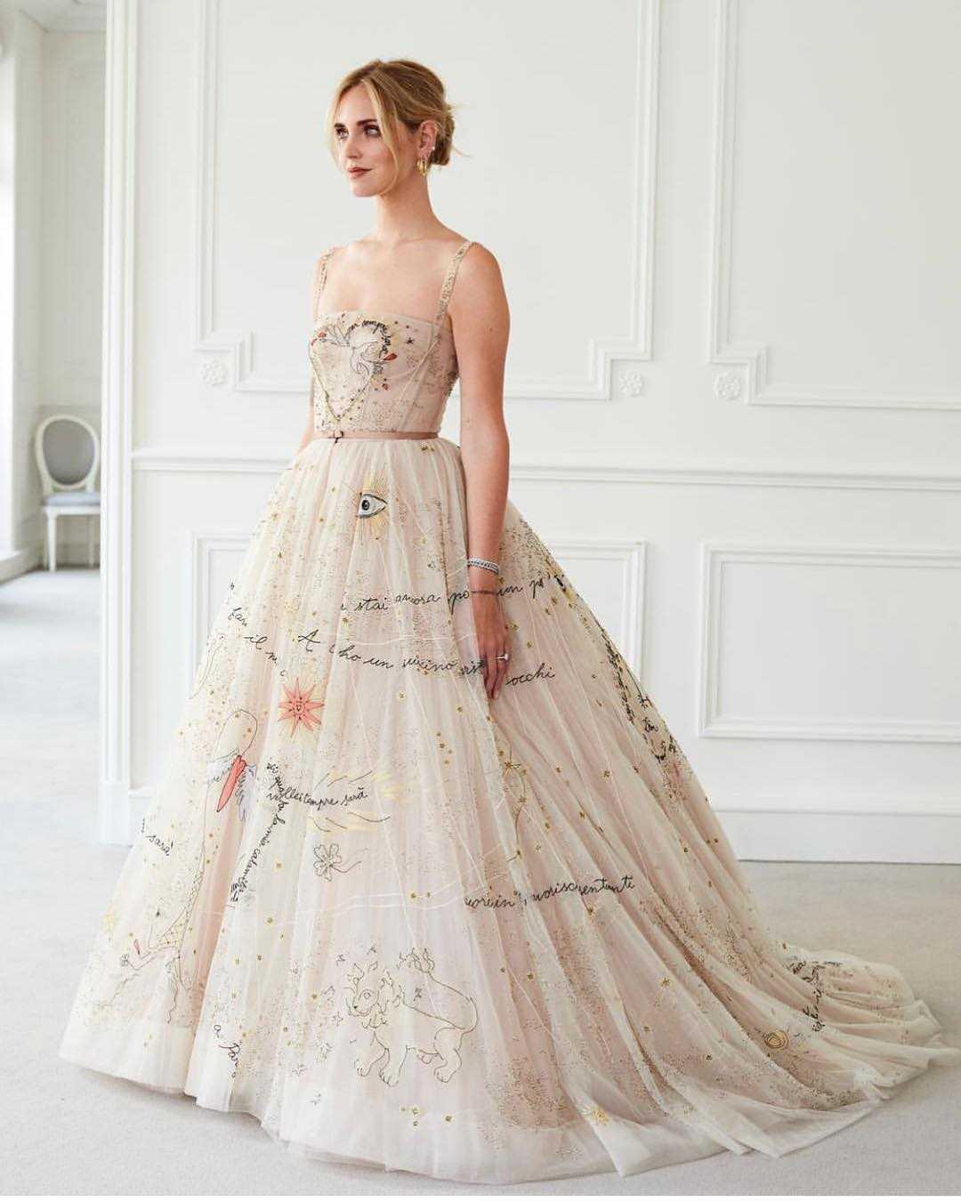 Chiara Ferragni Dior Abito Anello (4)