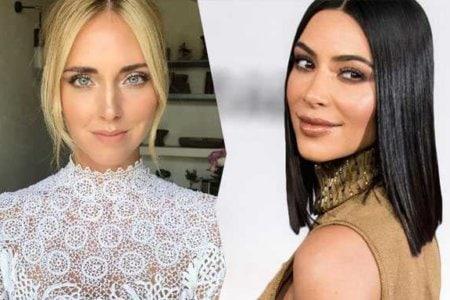 Chiara Ferragni e Kim Kardashian