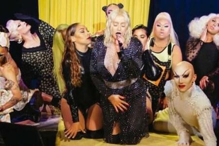Christina Aguilera Drag Queen