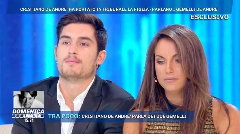 Filippo De Andre Domenica Live (1)