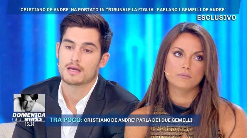 Filippo De Andre Domenica Live (3)