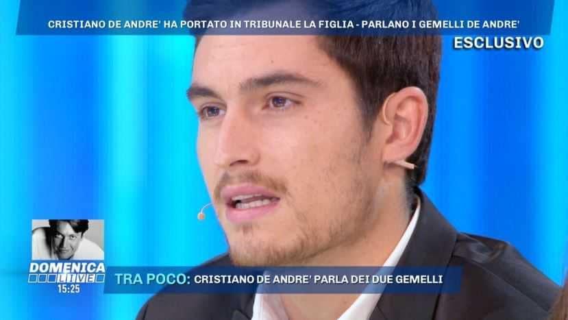 Filippo De Andre Domenica Live (4)