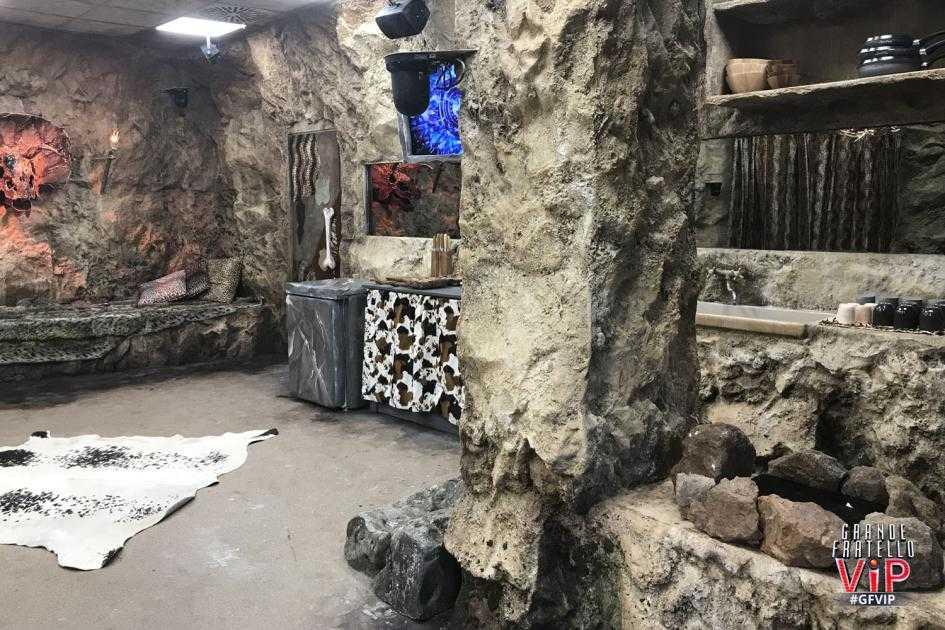 Grande Fratello Vip 2018 caverna