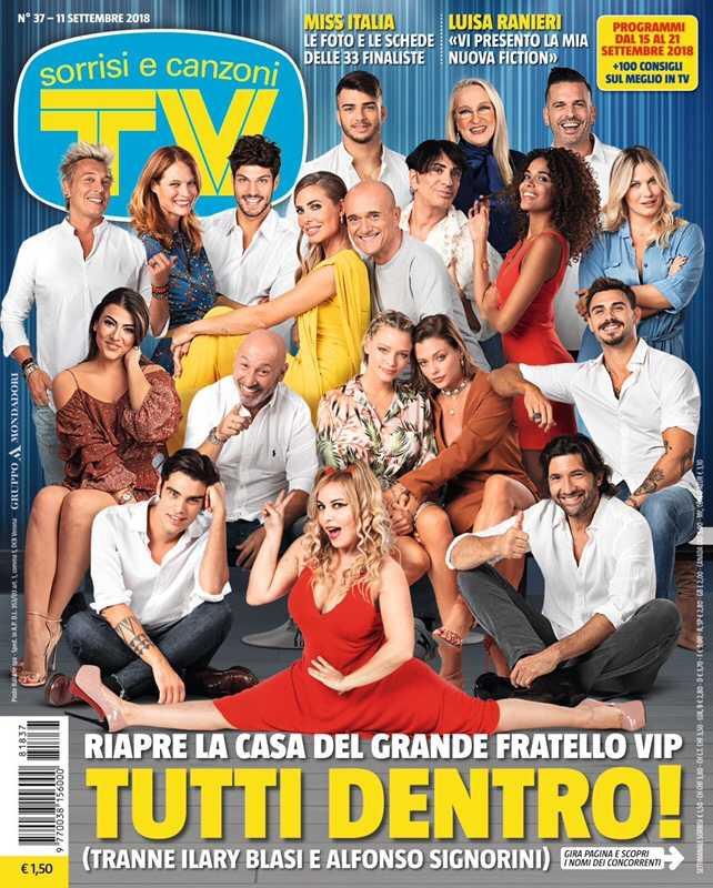 Grande Fratello Vip 3 Cast Tv Sorrisi e Canzoni