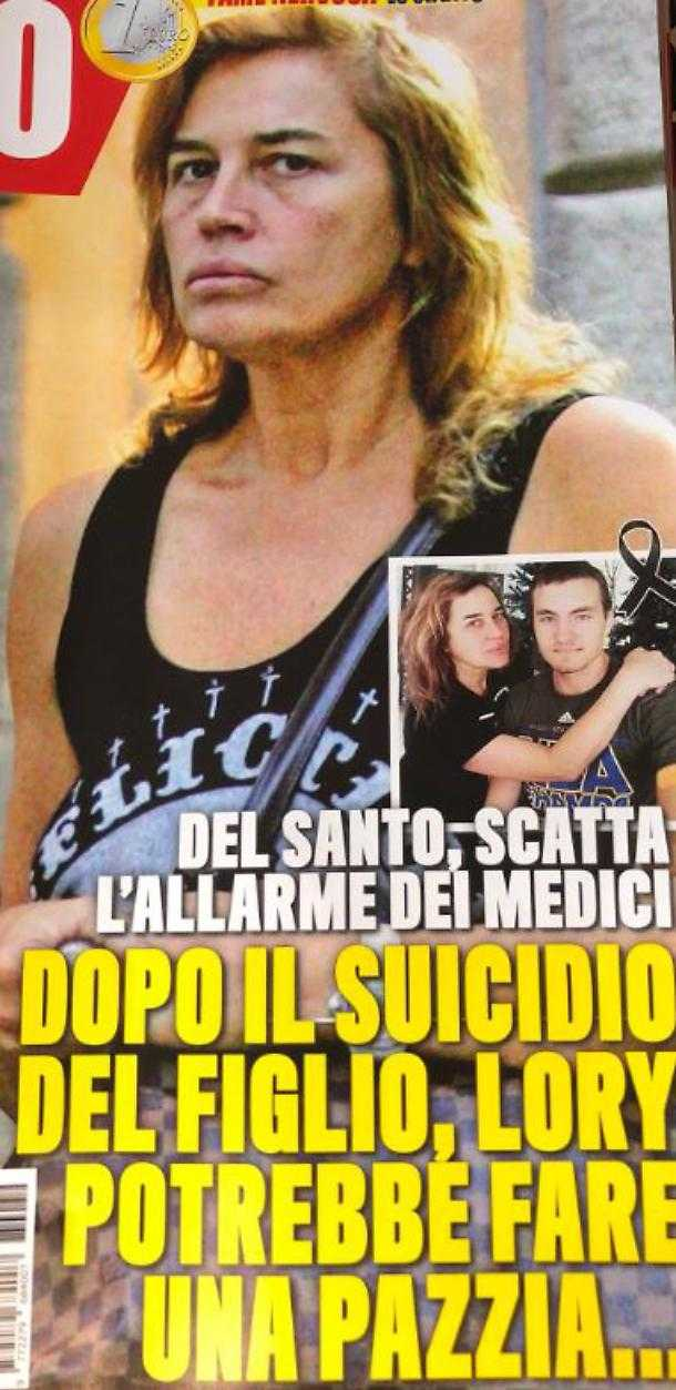Lory Del Santo sucidio