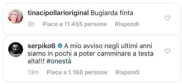Mario Serpa Tina Cipollari