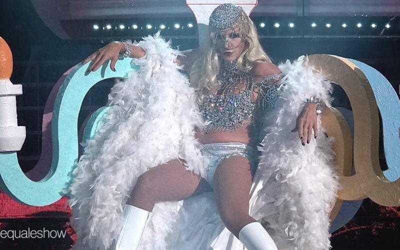 Matilde Brandi Lady Gaga
