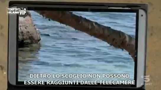 Valeria Marini e Ivan Temptation Island (2)