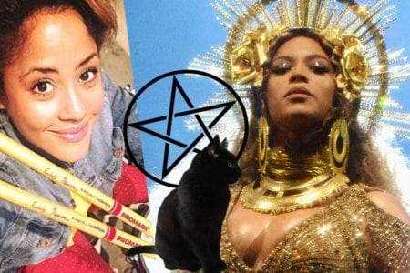 beyonce witch dark magic illuminati 666
