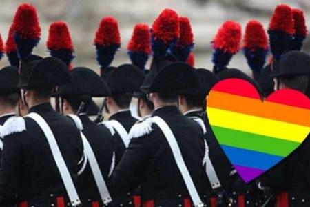 carabiniere gay arcobaleno