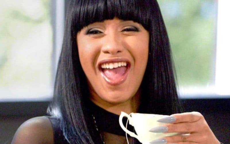 cardi b ride laughing tea nicki