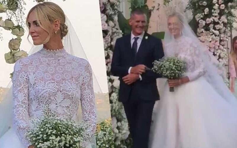 Matrimonio Chiara Ferragni e Fedez  ecco le foto e i video della ... 963ed367393