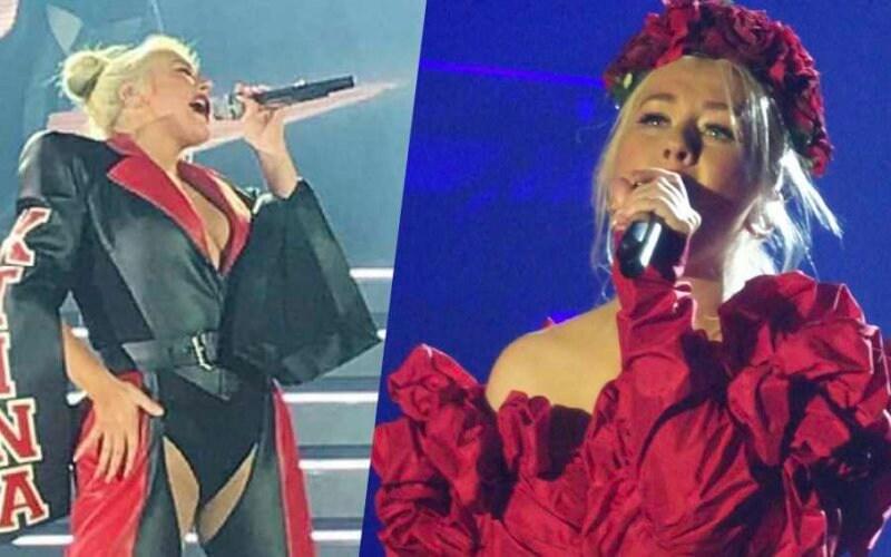 christina aguilera gay liberation tour