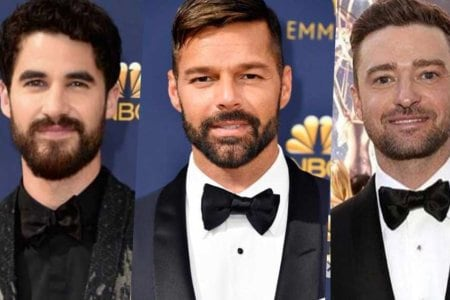 emmy awards ricky martin darren criss justin kit