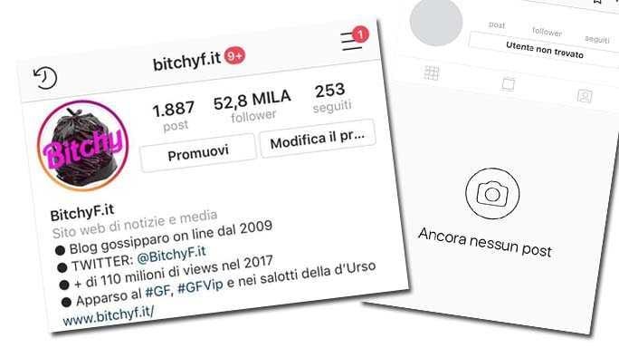 instagram blocco