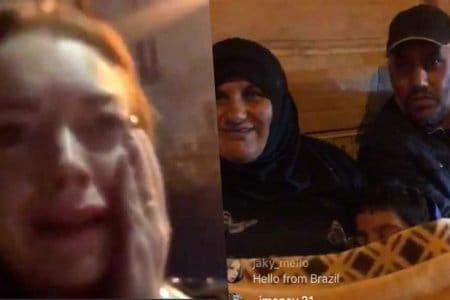 lindsay lohan mum arab sirian
