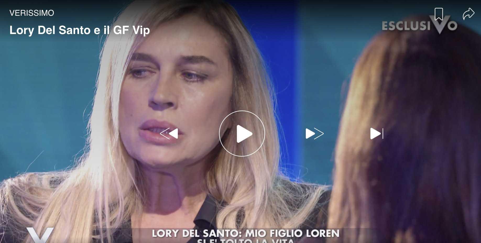 lory del santo gf vip 3 silvia