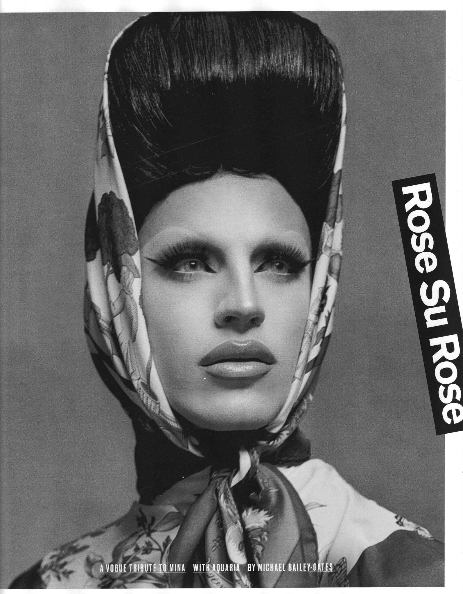 Aquaria Mina Vogue Italia 3