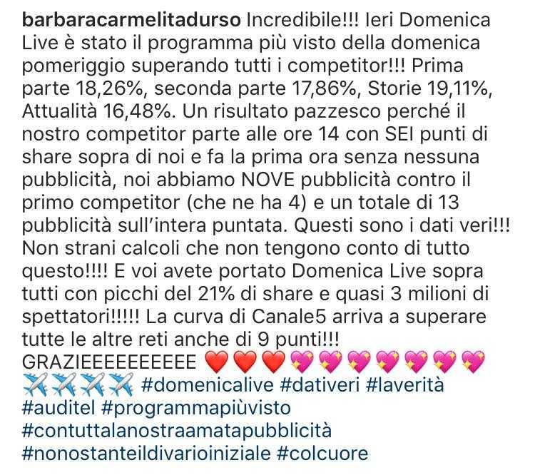 Barbara d'Urso e Mara Venier Instagram (2)