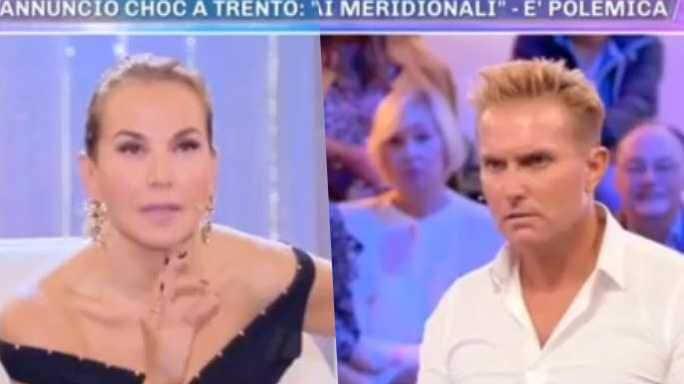Barbara d'Urso e Pasquale Laricchia