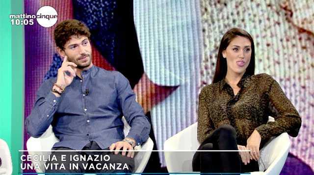 Cecilia Rodriguez e Ignazio Moser commentano Francesco Monte al GF Vip