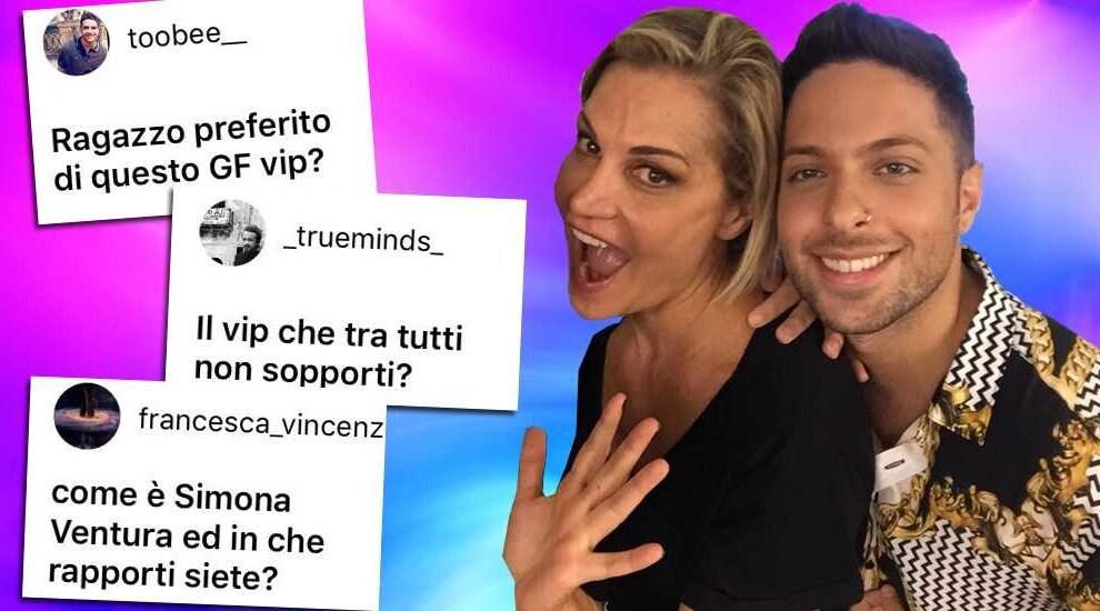 Fabiano Minacci Simona Ventura