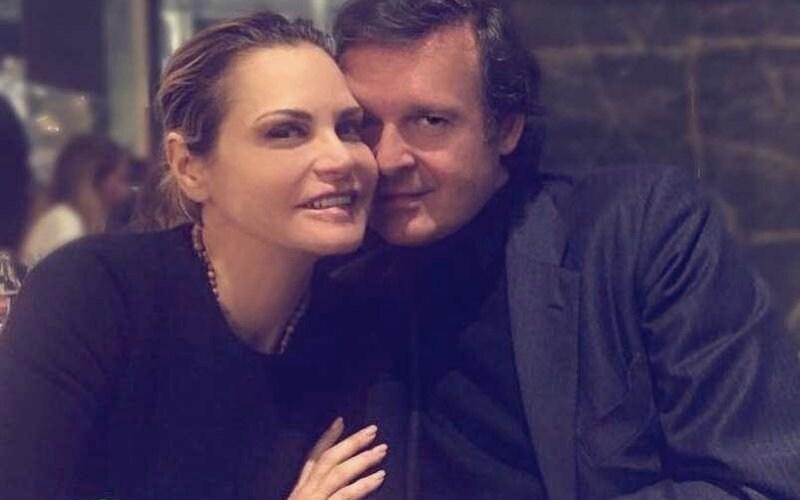 Gerò Carraro e Simona Ventura