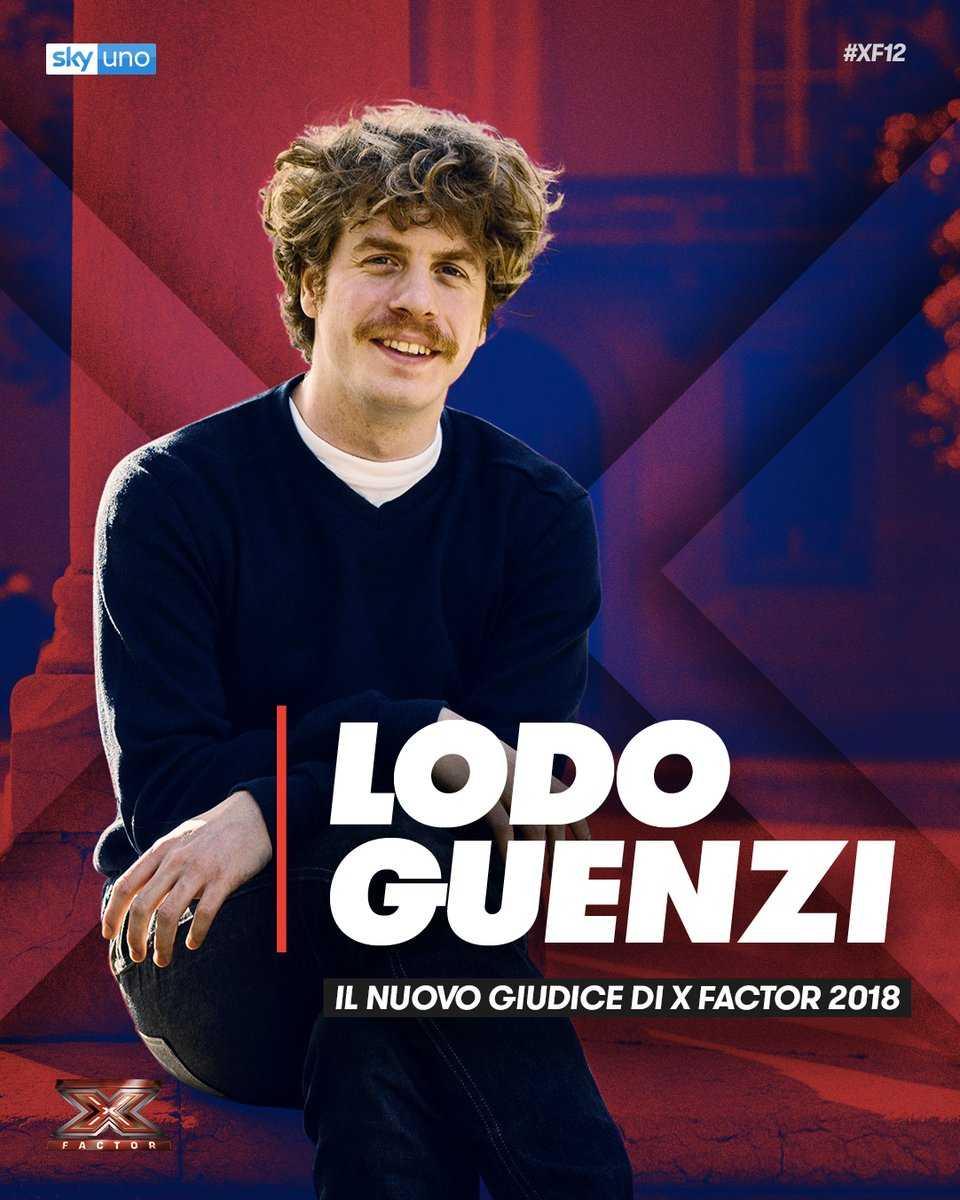 Lodo Guenzi X Factor